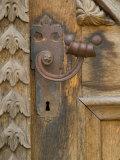 Old Door Handle  Ceske Budejovice  Czech Republic