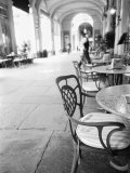 Cafe and Archway  Turin  Italy