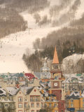 Mont Tremblant Ski Village in The Laurentians  Quebec  Canada