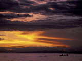 Lake Tanganyika From Within Gombe National Park  Tanzania