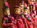 Puppet Souvenirs  Jaipur City Palace Complex  India