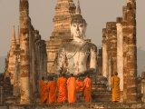 Wat Mahathat, Thailand Papier Photo par Gavriel Jecan