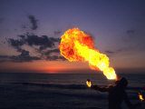 Fireeater at Sunset  Jamaica