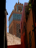 Kasbah Mosque  Marrakesh  Morocco