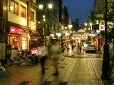 Evening in Asakusa District  Tokyo  Japan