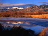 Bridger Mountains Near Bozeman  Bozeman  USA