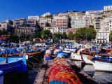 Porticciolo (Marina) at Mergellina  Naples  Italy