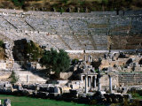 Great Theatre Ruin  Pergamum  Ephesus  Turkey