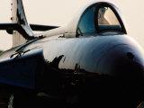 Military Jet on Tarmac  Oshkosh  USA