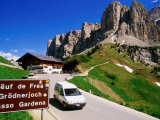 Gardena Pass  Dolomiti Di Sesto Natural Park  Italy