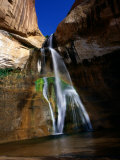 Lower Calf Creek Falls in Grand Staircase - Escalante National Monument  Utah