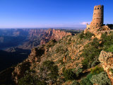 Watchtower at Desert View on Canyon's Southern Edge  Grand Canyon National Park  USA