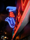 Neon Sign for the Yale Hotel Blues Club  Vancouver  Canada