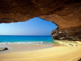 Cave at French Bay  San Salvador Island  Bahamas