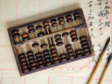 Chinese Abacus with Brushes  China