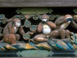 Hear No Evil  Speak No Evil  See No Evil  Toshogu Shrine  Tochigi  Nikko  Japan