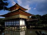 Golden Pavilion  Zen Temple  Kinkakuji  Kyoto  Japan