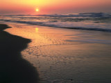 Sunrise over Outer Banks  Cape Hatteras National Seashore  North Carolina  USA