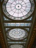 Skylights in Penn Station  Baltimore  Maryland  USA