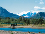 Float Plan on Salmon Stream  Katmai National Park  Alaska  USA