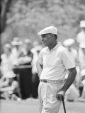 Golfer Ben Hogan Playing in US Open Tournament on Cherry Hills Course Denver  Colorado June 1960