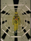 """Actor Gary Lockwood in Space Suit in Scene from Motion Picture """"2001: A Space Odyssey"""" Photo premium par Dmitri Kessel"""