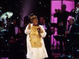 Singer Aretha Franklin Performing at Vh1 Divas Live