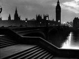 Houses of Parliament Seen Across Westminster Bridge at Dawn  Regarding Poet William Wordsworth