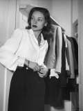 Actress Lauren Bacall at Gotham Hotel