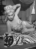 "Actress Kim Novak in Title Role Performing Hoochie-Coochie Dance in the Movie ""Jeanne Eagels"""