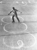 Richard Button Skating at the World Figure Skating Contest