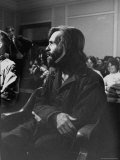 Charles Manson in Court Facing Murder Charges in Brutal Deaths of Actress Sharon Tate and Others