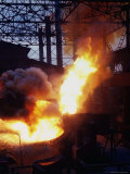 Bessemer Furnace change Iron to Steel for Munitions Production at Birmingham Steel Prod Center