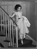 Shirley Temple at Bel Air Country Club at Her 11th Birthday Party