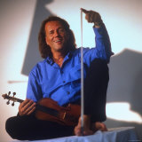 Dutch Violinist Andre Rieu Relaxing  Taking Practice Break with Violin