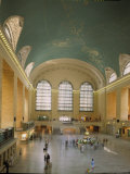 Main Concourse at Grand Central Station in Panorama Before Rededication of Renovated Beaux Art Gem