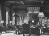 End of Great Hall at Cliveden  Estate Owned by Lord William Waldorf Astor and Wife Lady Nancy Astor