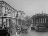 """Threadneedle Street Front of """"Old Lady of Threadneedle Street """" Showing the Bank of London Building"""