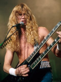 Dave Mustaine  Lead Singer of Megadeth  Performing