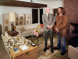 David Crosby Standing with Father Floyd in Father's House