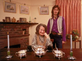 Eric Clapton with His Grandmother Rose Clapp