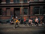 Strutting Sidewalk Dance  Scene from West Side Story