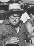 "Director Sergio Leone on Location in Almeria  Spain Filming ""Once Upon a Time in the West"""
