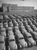 Volkswagen Factory Rolls an Average of 150 Efficient 4 Cylinder Sedans Into Storage Yards Every Day