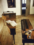 Apartment Where Mozart Was Born with Display of Instruments