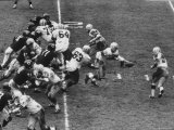 The Green Bay Packers Playing a Game
