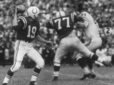 Game Between the Baltimore Colts Vs the Chicago Bears