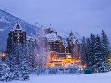 Banff Springs Hotel  Banff  Alberta