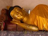 Reclining Buddha  Chiang Mai  Thailand
