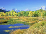 Teton Range  Grand Teton National Park  USA